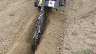 TRENCHER ATTACHMENT MINI LOADER