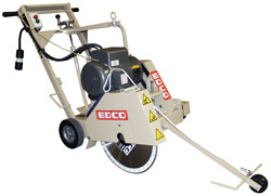 CONCRETE SAW WALK-BEHIND (240 VOLT)