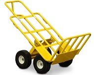 DOLLY HAND TRUCK YELLOW