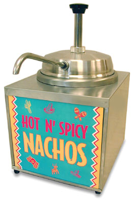 NACHO CHEESE DISPENSER (CAN)