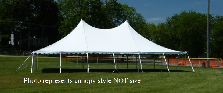 CANOPY HIGH PEAK 40 X 80