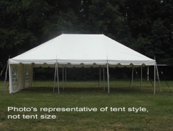 Canopy 20X40 WHITE