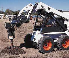 AUGER BOBCAT ATTACHMENT
