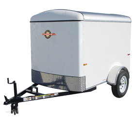 ENCLOSED TRAILER 5x 8 W/RAMP