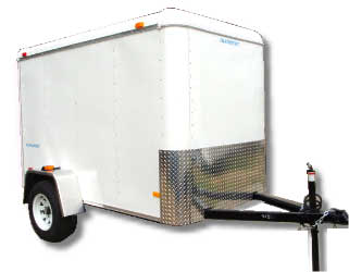 ENCLOSED TRAILER 4x 6