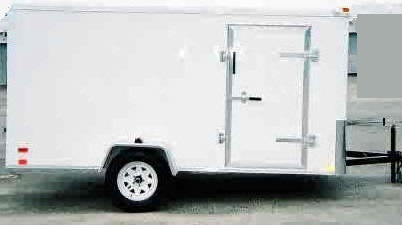 ENCLOSED TRAILER 6x 10
